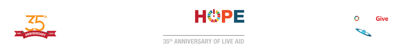 LIVEHOPE FESTIVAL | 35th Anniversary of LiveAID |